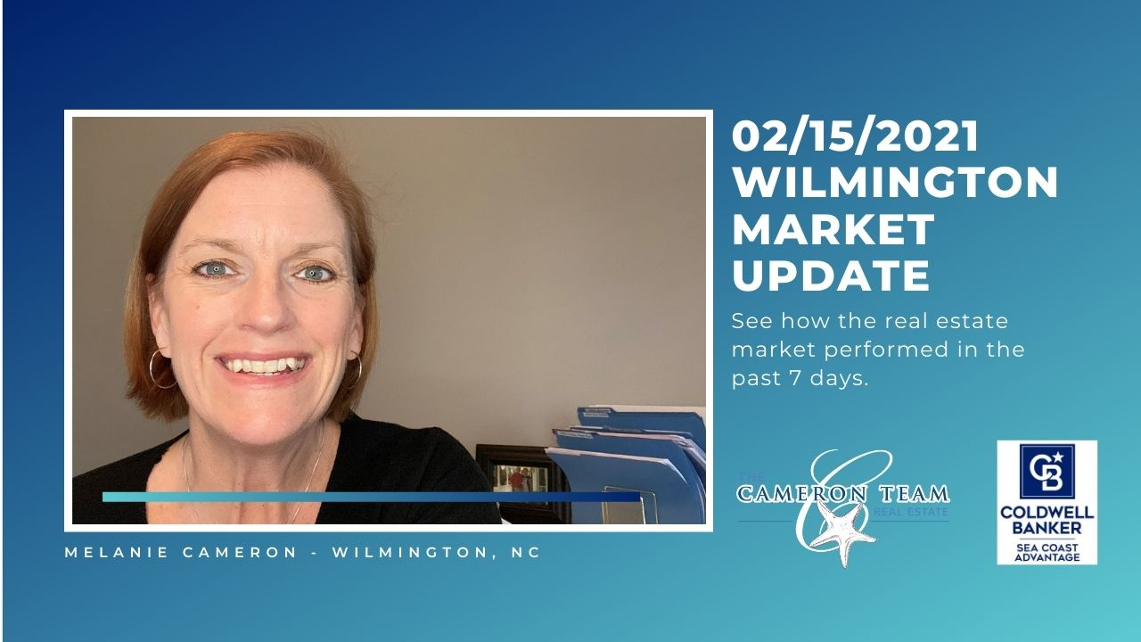 February 15, 2021 Wilmington Real Estate Market Update Main Photo