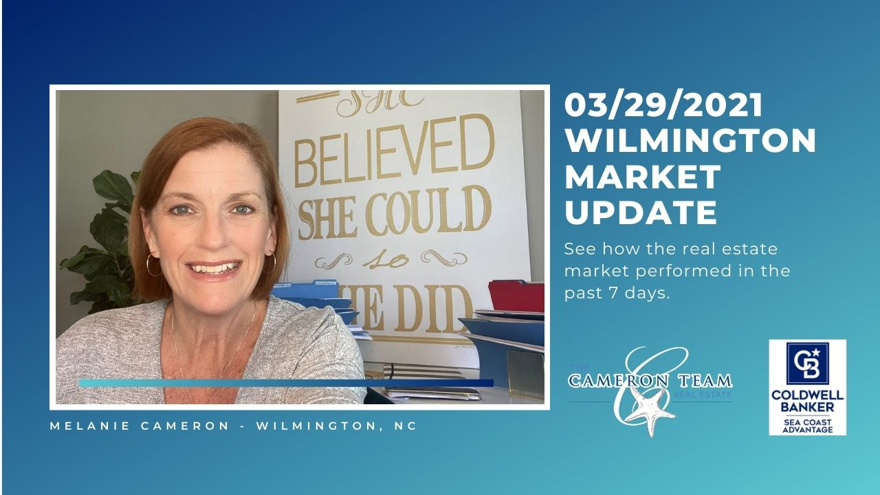 March 29, 2021 Wilmington Real Estate Market Update Main Photo