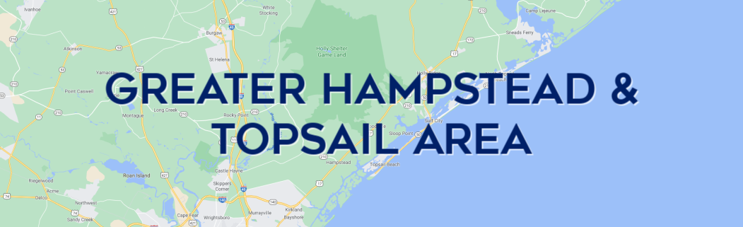 Homes for Sale in the Hampstead & Topsail Area