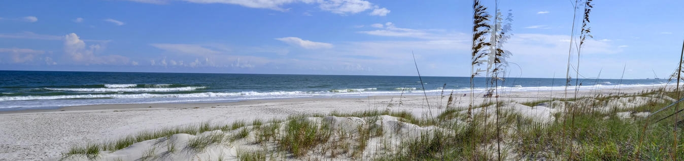 Wilmington is surrounded by spectacular beach communities. Image