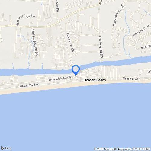 Holden Beach Office Map Location