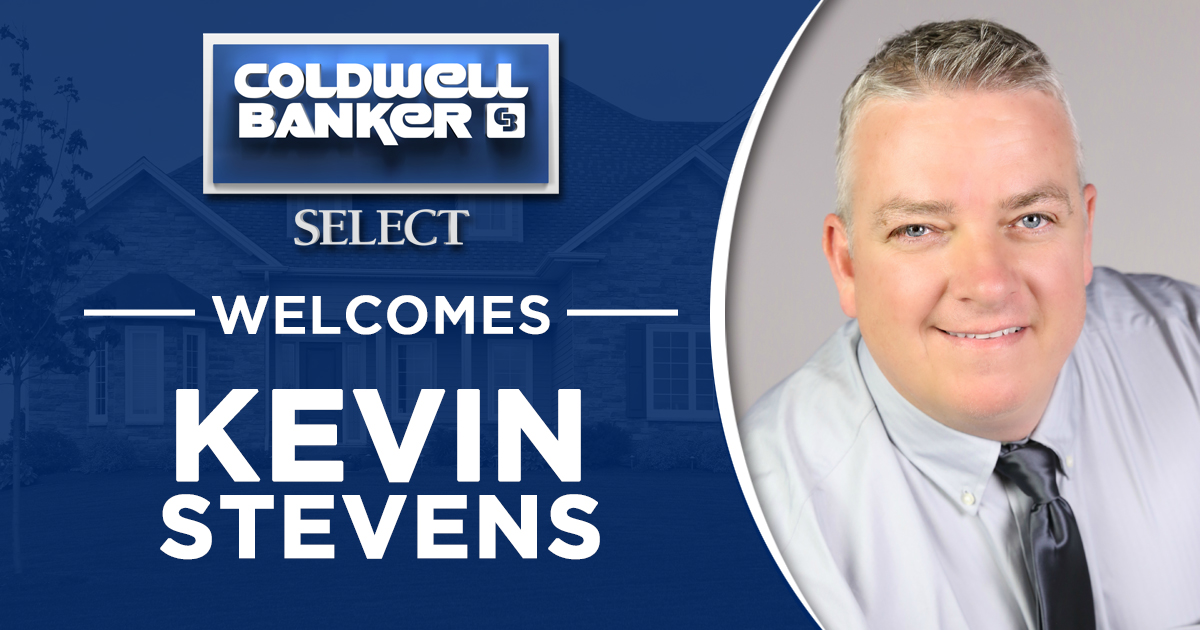 Kevin Stevens Joins Coldwell Banker Select Main Photo