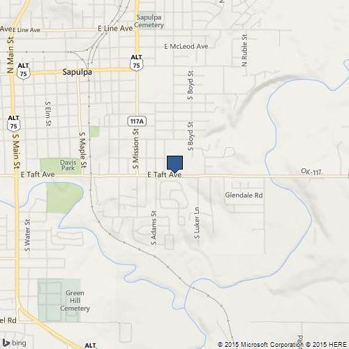 1301 East Taft, Sapulpa, OK 74066