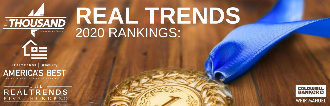 Coldwell Banker Weir Manuel Agents & Teams Named by REAL Trends Main Photo