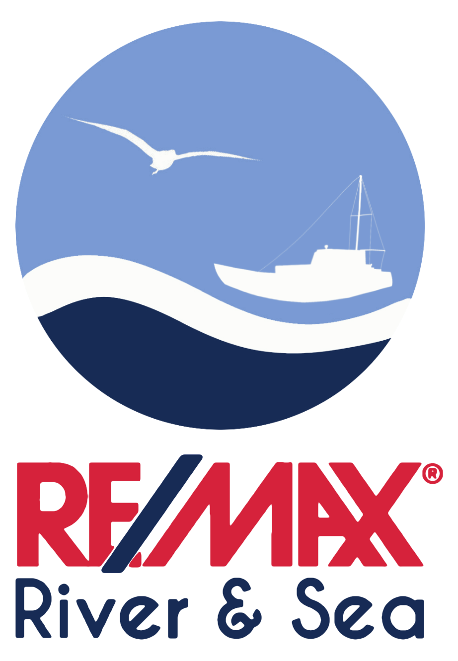 Sylvia Stuck - RE/MAX River & Sea Logo