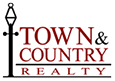 Melanie Blinn - Town and Country Realty Logo